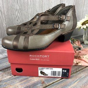 Rockport Cobb Hill Abbott Curvy Leather Shoe